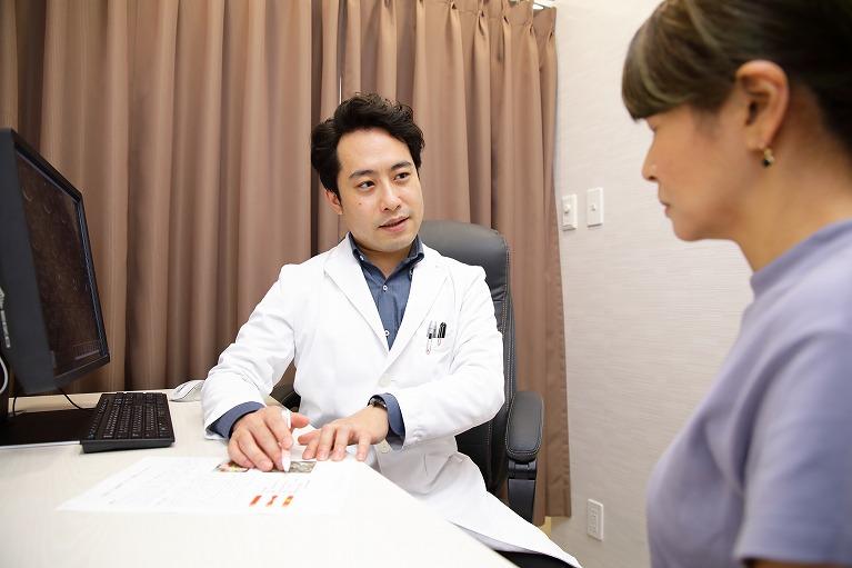 早めに専門医へ相談しましょう